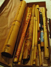 bamboos pipes  photo © Yadley Day